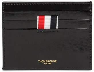 Thom Browne SMOOTH LEATHER CARD HOLDER