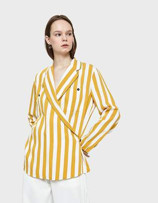 Maison Margiela Multicolor Stripe Blouse