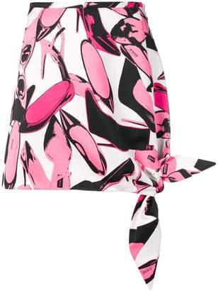 Pinko (ピンコ) - Pinko ノットディテール ミニスカート