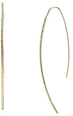 Aqua Desi Hammered Threader Earrings - 100% Exclusive