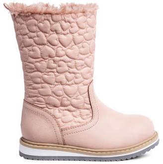 H&M Lined Boots - Orange