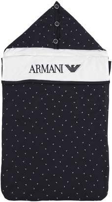 Emporio Armani Padded Cotton Jersey Sleeping Bag