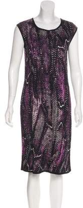St. John Knee-Length Shift Dress