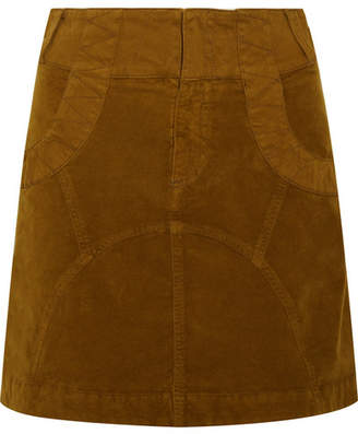 See by Chloe Cotton-blend Mini Skirt