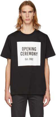 Opening Ceremony Black Logo T-Shirt