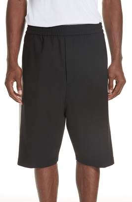 Neil Barrett Shorts with White Panels