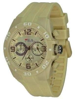 Fila Unisex Quartz Watch with Chronograph Plastic & 1035 (Set of 4