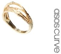 Asos Branch Ring - Gold