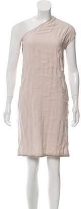 Lanvin Asymmetrical Knee-Length Dress