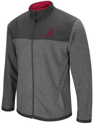 Colosseum Men Alabama Crimson Tide Full-Zip Fleece Jacket