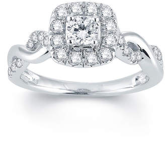 MODERN BRIDE Modern Bride Signature 3/4 CT. T.W. Diamond 14K White Gold Engagement Ring