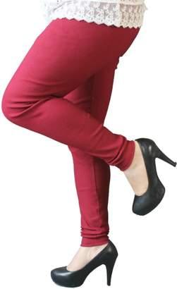 Nothing but Quality Nothing Women's Extra Large Cotton Elastane Leggings in Cotton Denim Fabric (3xl, )