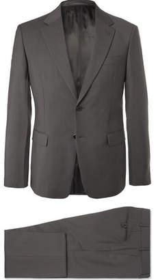 Prada Grey Tela Slim-Fit Wool And Mohair-Blend Suit