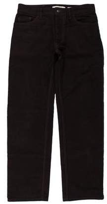 Marc Jacobs Felted Straight-Leg Pants