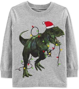 Carter's Baby Boys Dinosaur Lights Graphic T-Shirt
