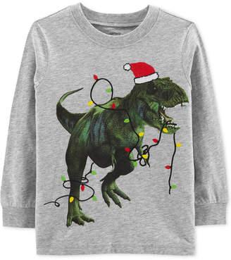 Carter's Carter Baby Boys Dinosaur Lights Graphic T-Shirt