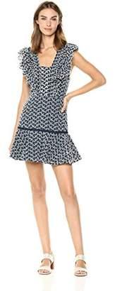 Keepsake The Label Women's Blossom Pinafore Mini Dress with Ruffle Hem