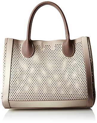 Steve Madden Bperfie Perforated Bag with Pouch $88 thestylecure.com