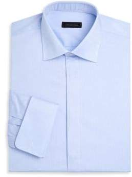 Saks Fifth Avenue COLLECTION French Cuff Twill Dress Shirt
