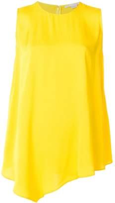 Stella McCartney asymmetric sleeveless blouse