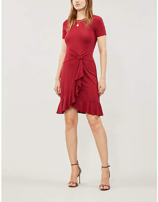 MICHAEL Michael Kors Chain-trimmed stretch-jersey dress