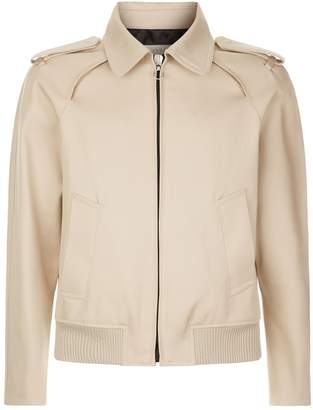 Sandro Zip-Up Cotton Jacket