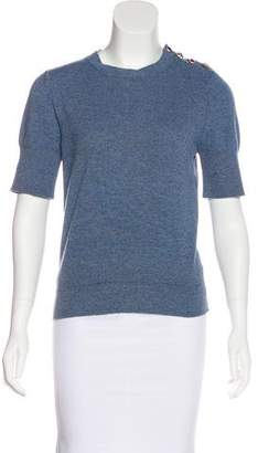 Marc Jacobs Knit Distressed Top