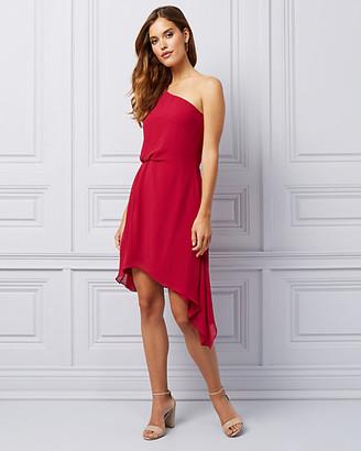 Le Château Chiffon One Shoulder Dress