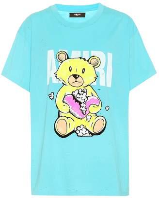 Amiri Printed cotton T-shirt