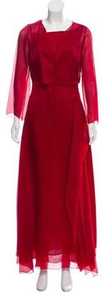 Paule Ka Evening Dress Set