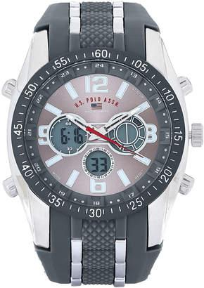 U.S. Polo Assn. US9283 Grey Analog & Digital Chronograph Watch