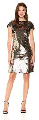 Sam Edelman Women's Sequin Cap Sleeve