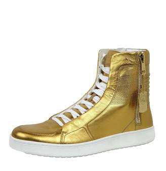 Gucci Men's Leather Limited Edition High-top Sneakers 376193