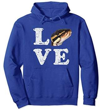 I Love My Ball Python Hoodie | Pet Snake Lovers Gift