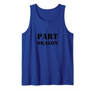 Dragon Optical Part Funny Fire Lovers Tank Top