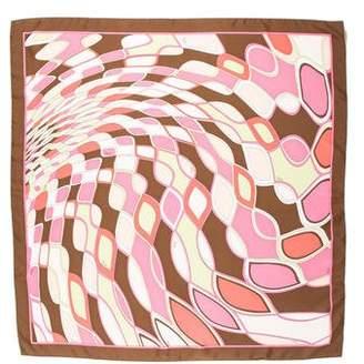 Emilio Pucci Silk Print Scarf