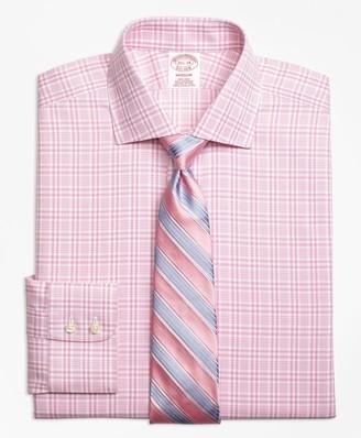 Brooks Brothers Madison Classic-Fit Dress Shirt, Non-Iron Glen Plaid