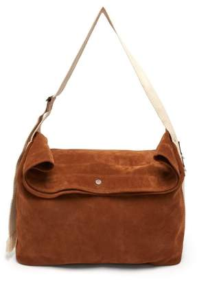J.W.Anderson Suede Duffle Bag - Mens - Brown