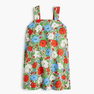 J.Crew Girls' tent dress in bright floral