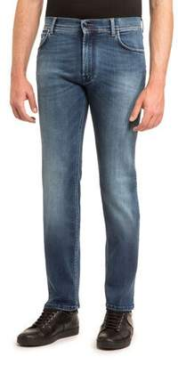 Stefano Ricci JEAN WITH GOLD STITCH AND FA