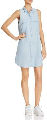 BB Dakota Brantley Cutout Chambray Shirt Dress