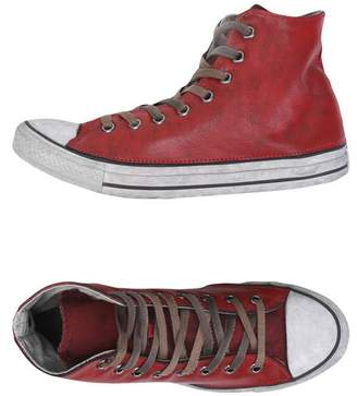 at yoox.com CONVERSE LIMITED EDITION CTAS HI CANVAS/LEATHER LTD High-tops &  sneakers