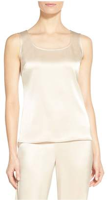 St. John Liquid Satin Tank Top