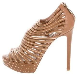 Christian Dior Embellished Caged Sandals