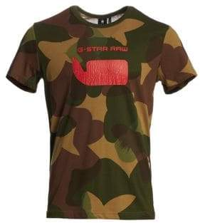 G Star Camouflage Graphic Tee