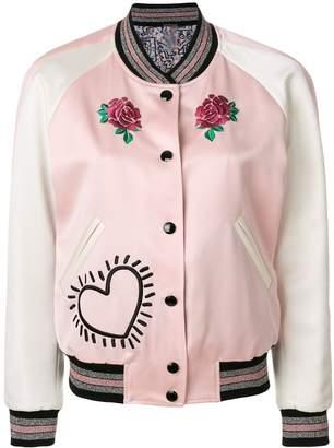 Coach X Keith Haring reversible satin jacket