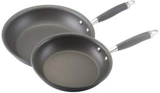 Anolon 2-Piece Set of Advanced Nonstick French Skillets