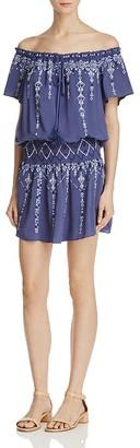 Parker Tammy Off-The-Shoulder Dress $288 thestylecure.com