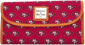 Dooney & Bourke NFL 49ers Continental Clutch