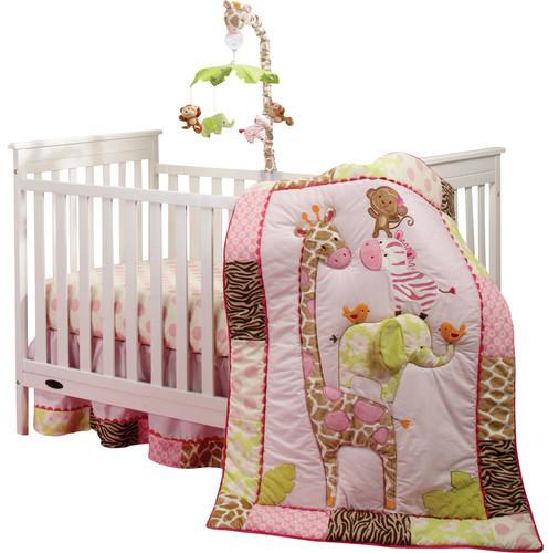 Carter'sCarter's Jungle 4 Piece Crib Bedding Set